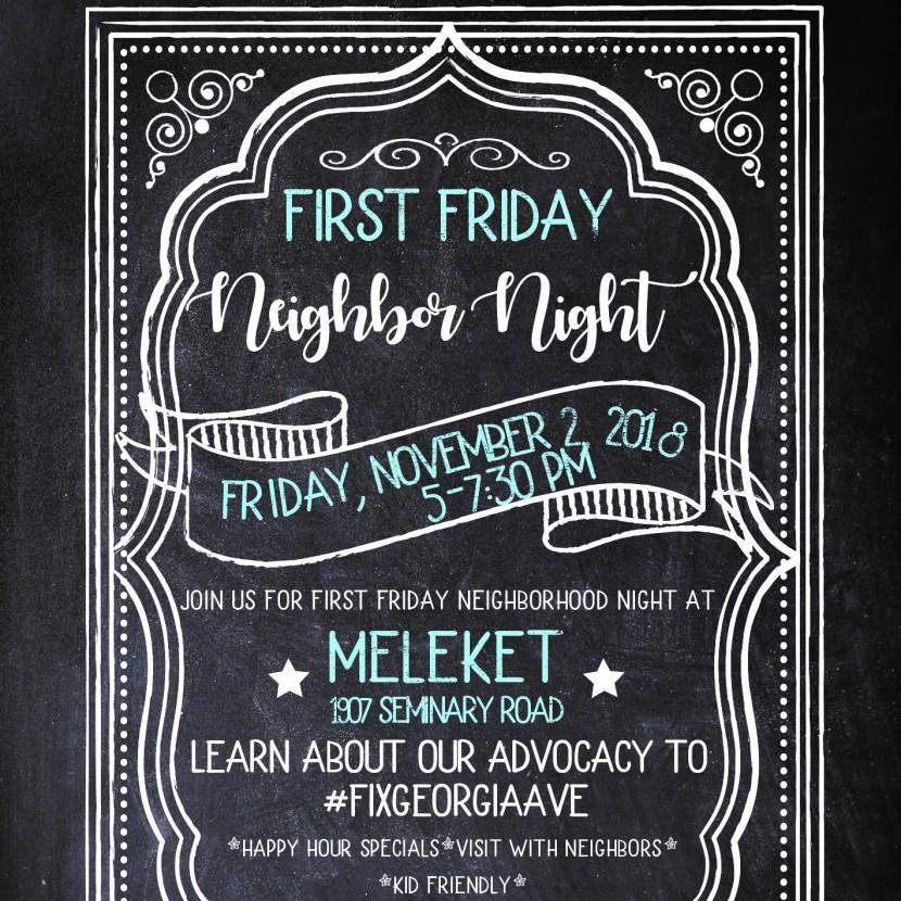 First Friday NeighborNight